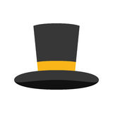 Isolated magician hat Stock Photography