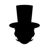 Isolated magician hat Royalty Free Stock Photography