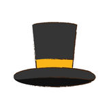 Isolated magician hat Royalty Free Stock Photos