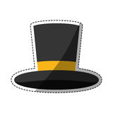 Isolated magician hat Royalty Free Stock Photo