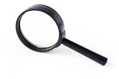 Isolated magnifying glass isolated Stock Photos