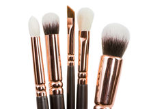 Free Isolated Make-up Brushes Royalty Free Stock Images - 64193259