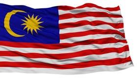Isolated Malaysia Flag Stock Photo