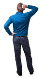 Isolated man Stock Images