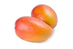Isolated mango fruit Stock Images