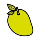 Isolated mango fruit design Royalty Free Stock Photo