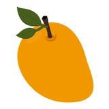 Isolated mango fruit design Stock Photo