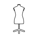 Isolated mannequin body Royalty Free Stock Photography