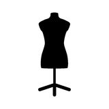Isolated mannequin body Stock Photo