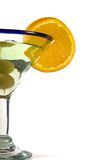 Isolated Martini Glass Royalty Free Stock Photos