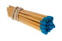 Isolated matches Stock Images
