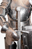 Isolated Medieval Armor. Royalty Free Stock Photography