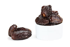 Isolated Medjool Dates Stock Photo