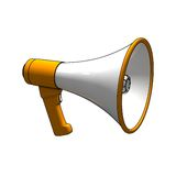 Isolated megaphone Stock Photos