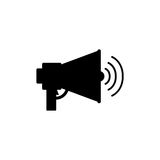 Isolated megaphone design Royalty Free Stock Images