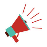Isolated megaphone design Stock Images