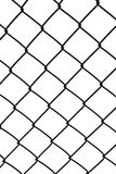 Isolated mesh fence stock photography