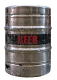 Isolated Metal Beer Keg Royalty Free Stock Image