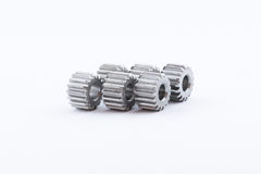 Isolated metal pinions gear Stock Photography