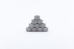 Isolated metal pinions gear Stock Photos