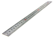 Isolated with metal ruler Stock Images