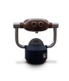 Isolated Metal Tourist Binoculars Stock Image