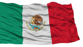 Isolated Mexico Flag Royalty Free Stock Images