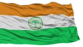 Isolated Miami City Flag, United States of America Royalty Free Stock Photo