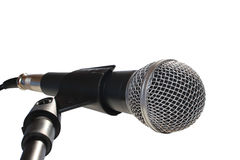 Isolated microphone Royalty Free Stock Photos