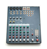 Isolated mixing console Stock Photo