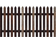 Isolated model of fence Royalty Free Stock Photo