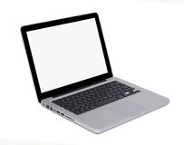 Isolated modern laptop Stock Photo