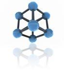 Isolated molecule Stock Image