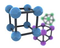 Isolated molecule Stock Photography