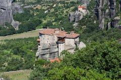 Isolated monastery Stock Photo