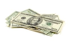 Isolated Money Royalty Free Stock Photo