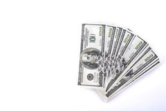 Isolated money Royalty Free Stock Photo