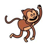 Isolated monkey cartoon design Stock Photo