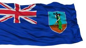 Isolated Montserrat Flag Royalty Free Stock Images