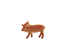 Isolated moose toy Royalty Free Stock Images