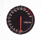 Isolated motor tachometer Royalty Free Stock Photography