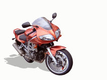 Isolated Motorbike Royalty Free Stock Photography