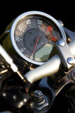 Isolated motorcycle speedometer. Close-up Royalty Free Stock Photo