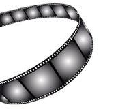 Isolated movie/photo film royalty free stock photos