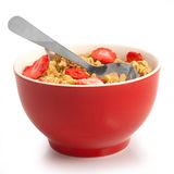 Isolated muesli Stock Images