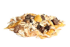 Isolated muesli Stock Photography