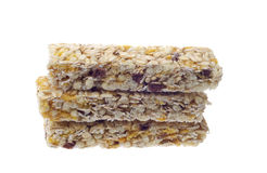 Isolated muesli bar Stock Image