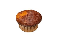 Isolated muffin Royalty Free Stock Image