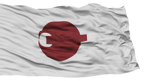 Isolated Nara Japan Prefecture Flag Stock Image