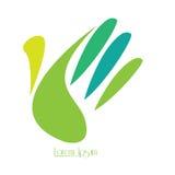 Isolated nature logo Stock Images